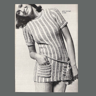 Girl Tunic Top Knitting Pattern - Easy & cute top pattern for