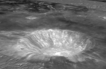 Aristarkhus kawah di bulan