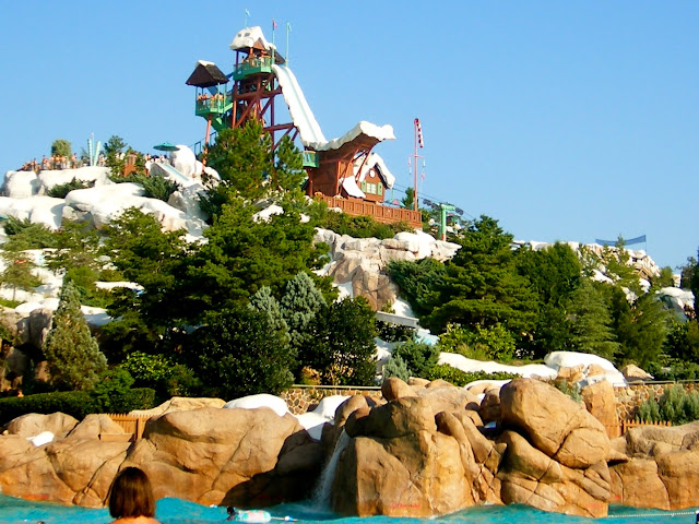 Blizzard Beach water park - Disney World, Florida