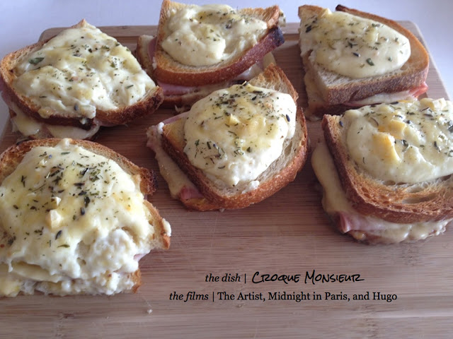 receta sandwich croque monsieur