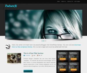 Future X Blogger Template