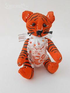 елочная игрушка тигр