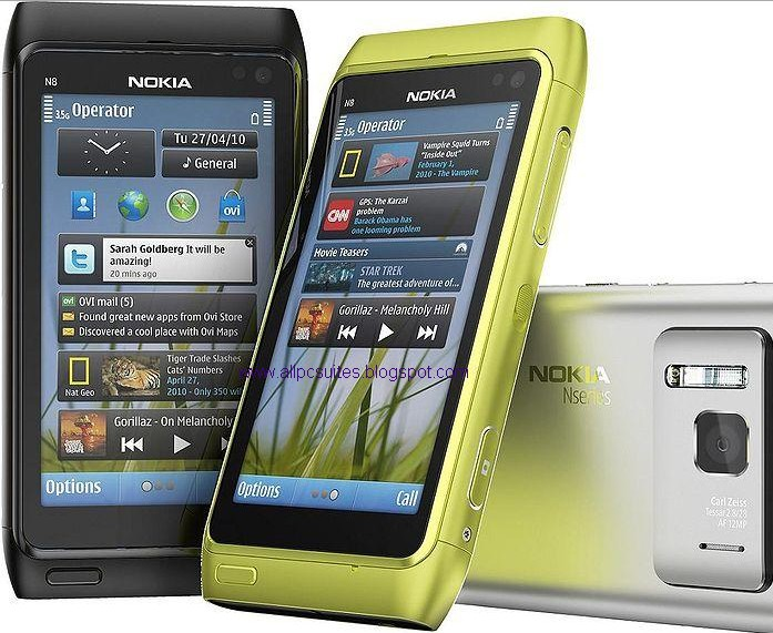 nokia n8 pc software