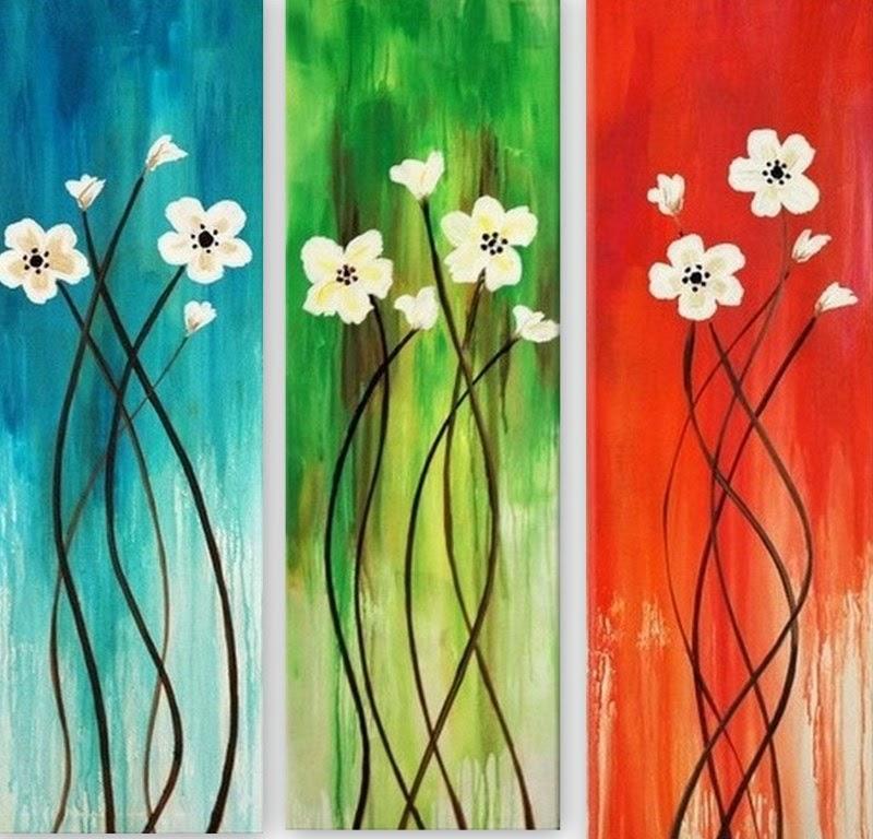 Pintura moderna y fotograf a art stica 24 cuadros - Pintar cuadros faciles ...