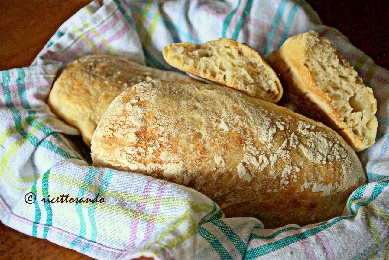 Ciabattine con lievito madre ricetta di pane ad alta idratazione