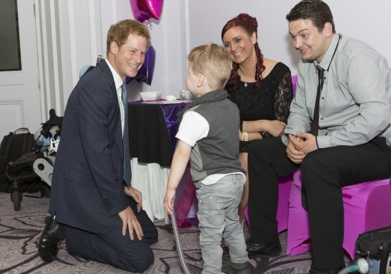 One of the winners in that category was Carson Hartley, a four-year-old boy who lives with conditions such as spina bifida, brittle bones and a heart defect, and has undergone over 30 operations