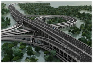 Hebat! Jalan Tol di Atas Laut Bali Menyami Union Bridge Kanada