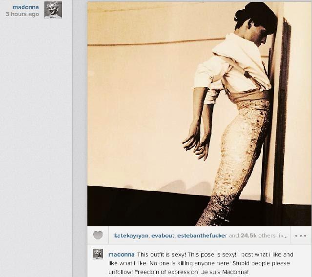 Madonna Instagram chinilive.com
