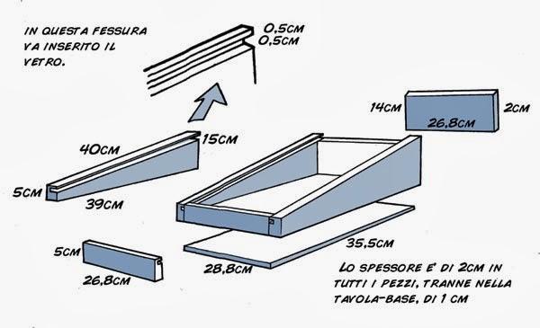 Kinart lezioni di fumetto online costruire un tavolo for Costruire un tavolo richiudibile