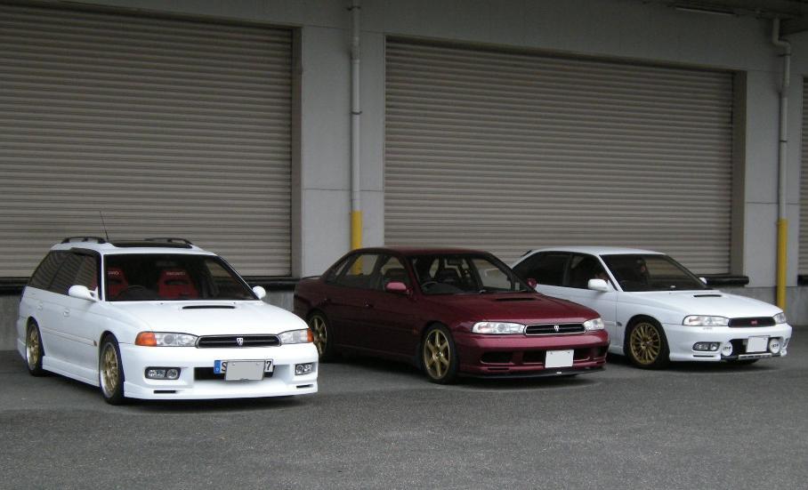 Subaru Legacy II-gen. 1993 1998 BD, BG, BK 日本車 チューニングカー スバル japoński samochód boxer tuning zdjęcia