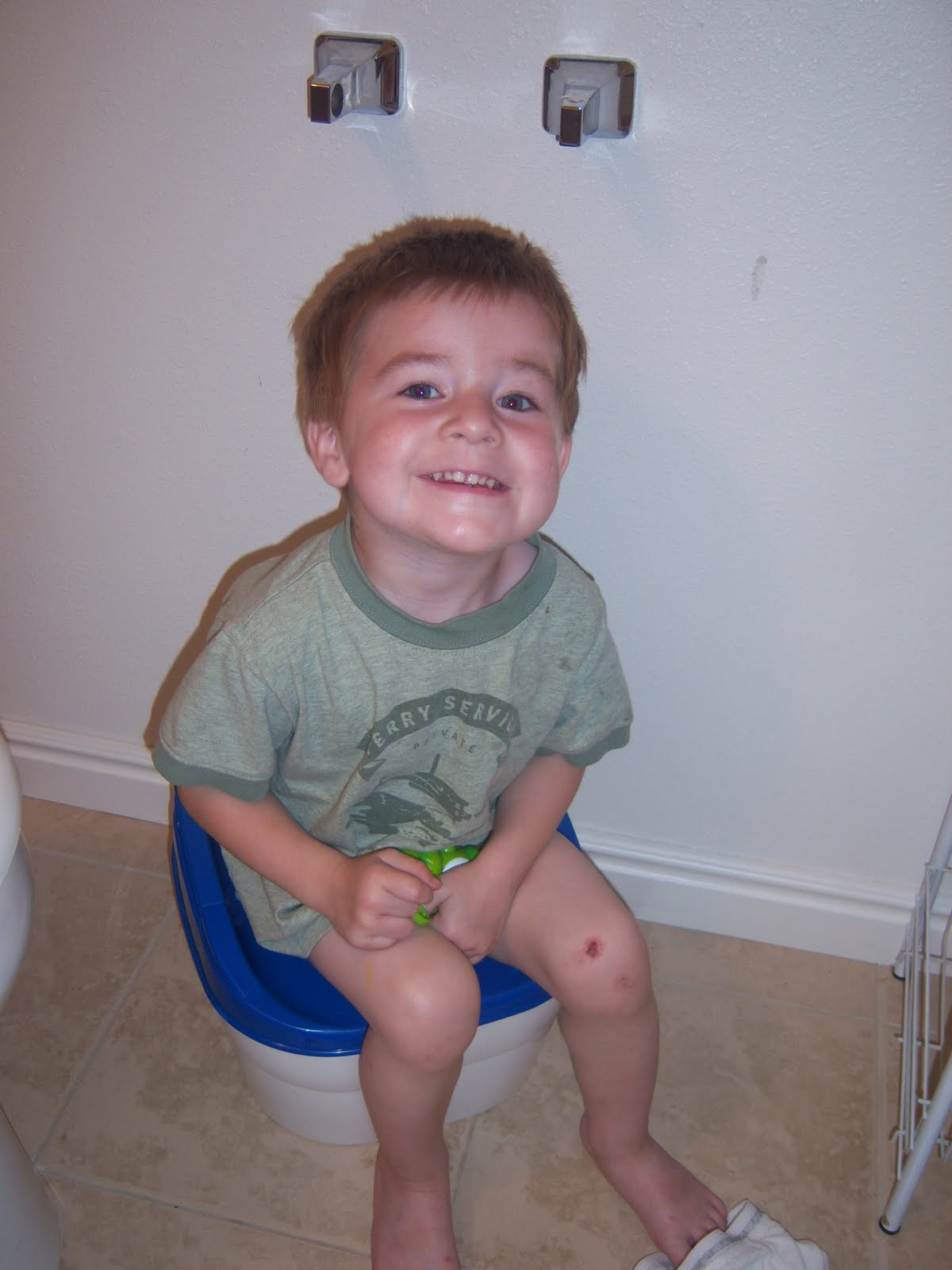 Potty training boys problems