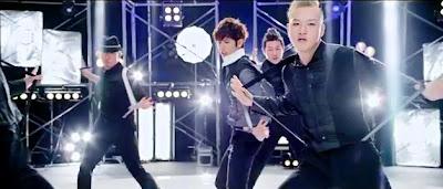Kim Kyu Jong Yesterday suspender dance