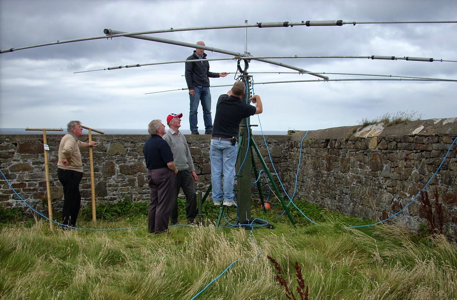Ham radio users light up the airwaves at Loop Head