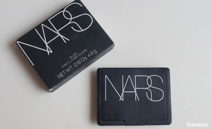 NARS Luster blush review