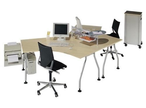 Decora y disena dise o de oficina para dos personas for Diseno de escritorios de oficina