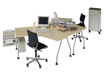 escritorio para dos