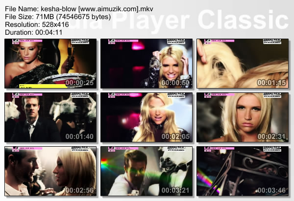 kesha blow lyrics. Kesha