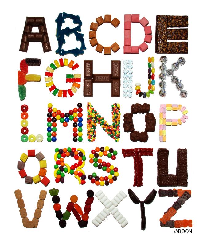 A Alphabet Design Just in case the Breakfast