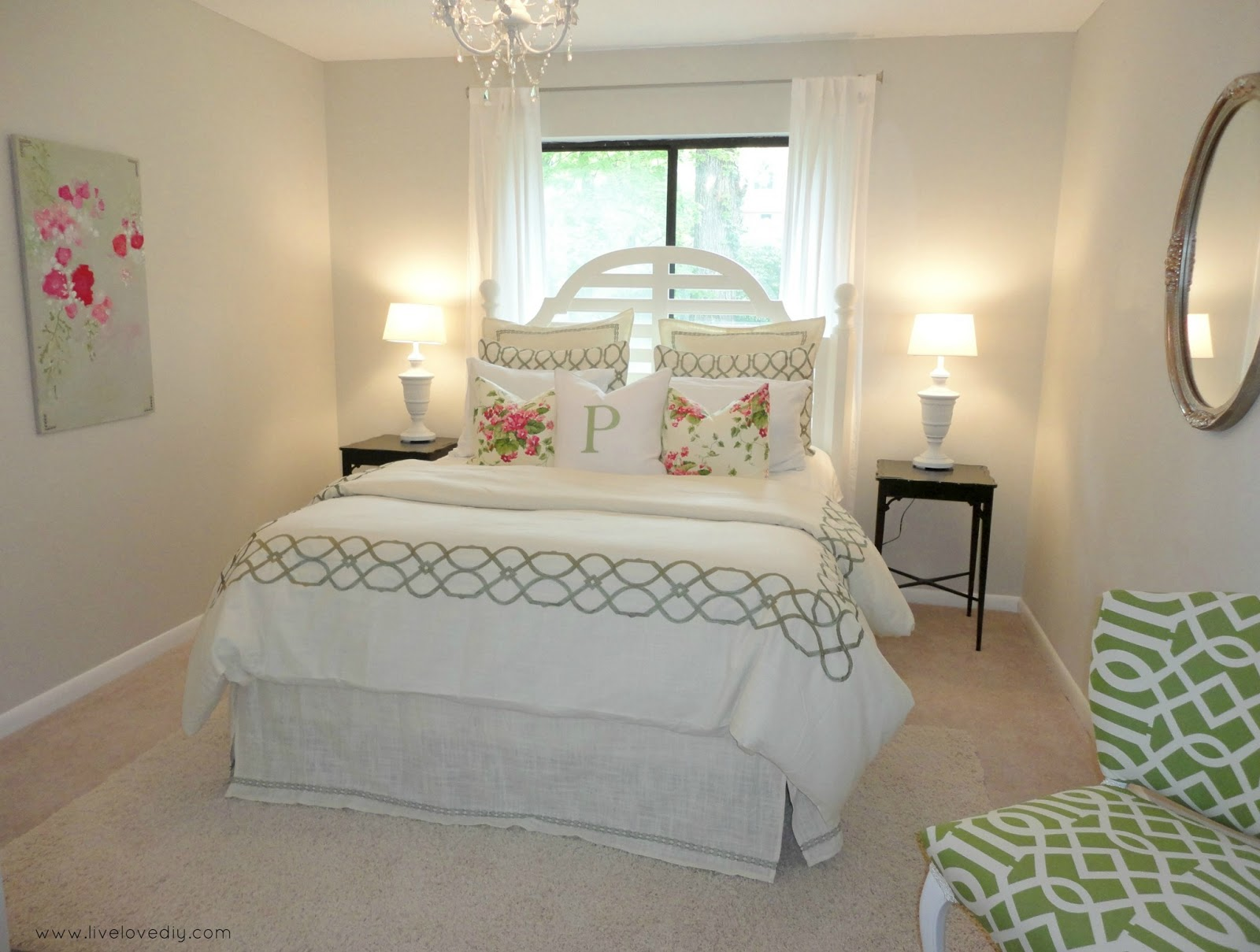 Livelovediy Decorating Bedrooms With Secondhand Finds The Guest Bedroom Reveal