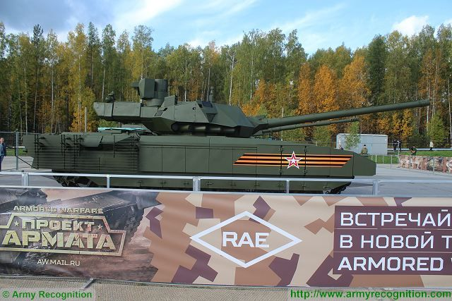 Batch Pertama Dari 32  Tank Tempur Utama T-14 Armata Akan Melengkapi Angkatan Darat Rusia