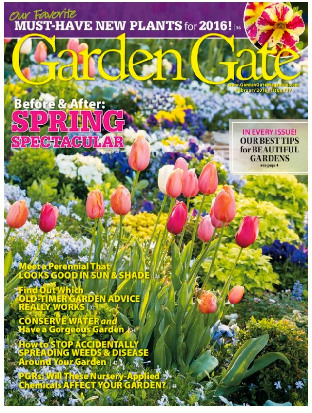 GARDEN GATE MAGAZINE Feature