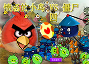 juego Angry Birds Vs Zombies 7