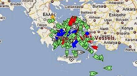 Χάρτης Πλοίων marinetraffic Πατήστε εδώ !