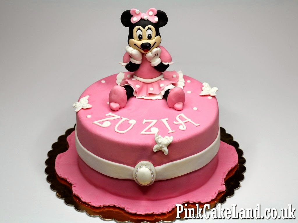 Minnie mouse birthday cake london  Photo of delicious cakes 2017