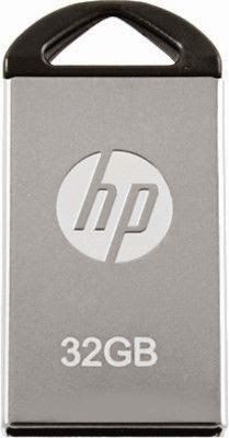 HP V 221 W 32 GB Utility Pendrive (Metallic Silver) at Rs. 838