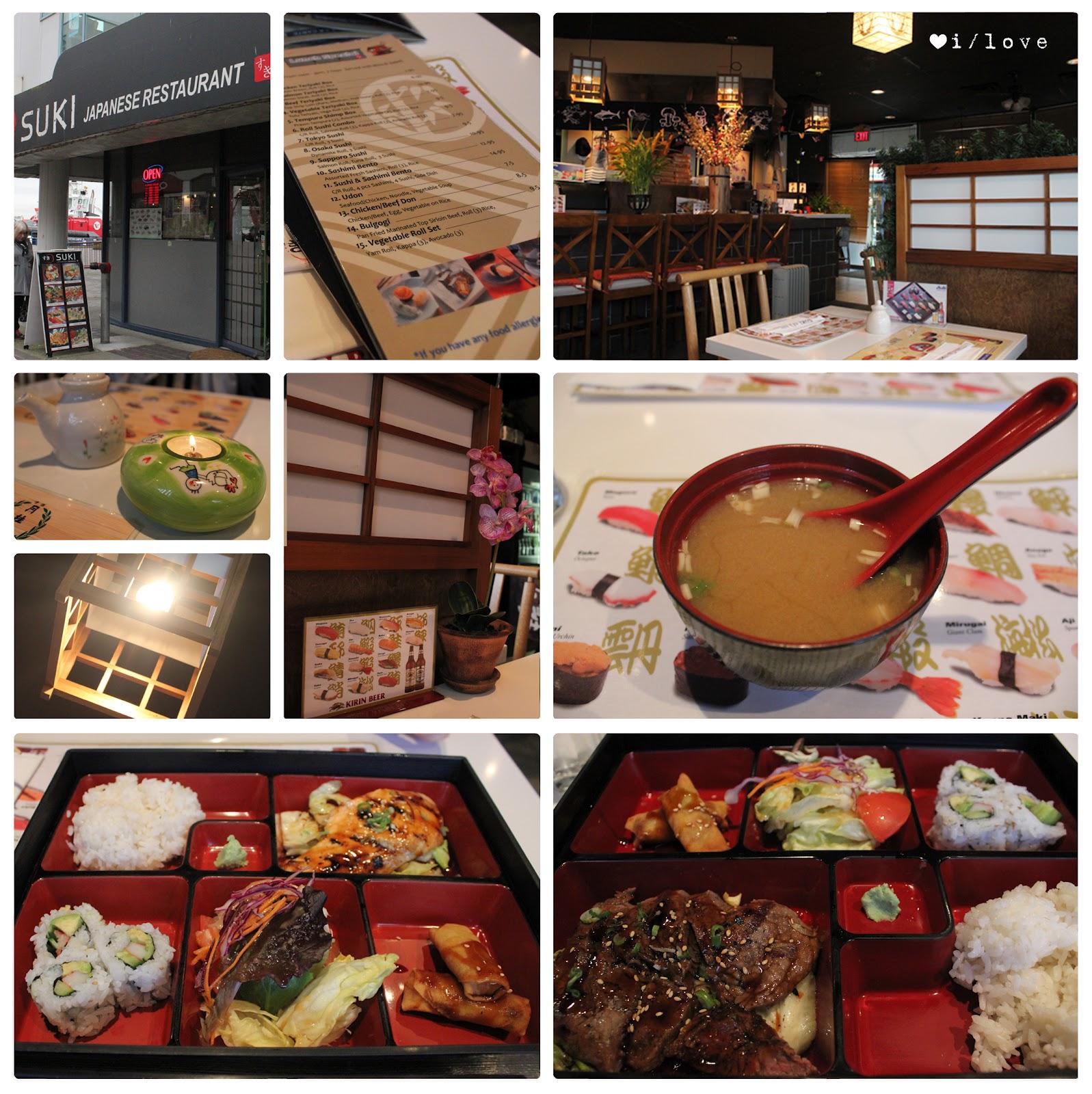 Oi/Love: Suki Sushi Japanese Restaurant