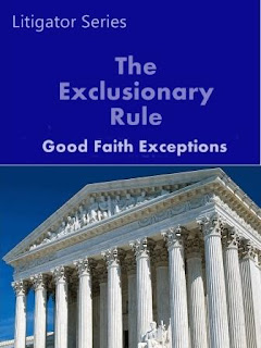 excluding the exclusionary rule among the police officers Duct will not be affected by the exclusion of evidence from criminal trials'2 in terms of deterrence, the most the exclusionary rule can accomplish is to encourage good faith efforts on the part of the police to comply with fourth amendment requirements the exclu- sion of evidence in the case of a good faith effort to comply will.