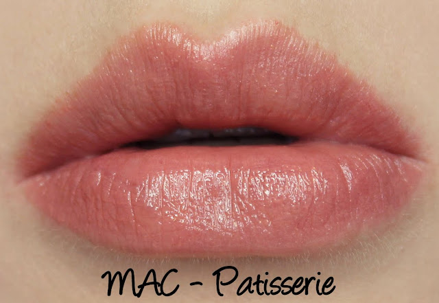 MAC Patisserie Lipstick Swatches & Review