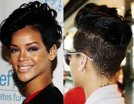 wahing: rihanna short hairstyles