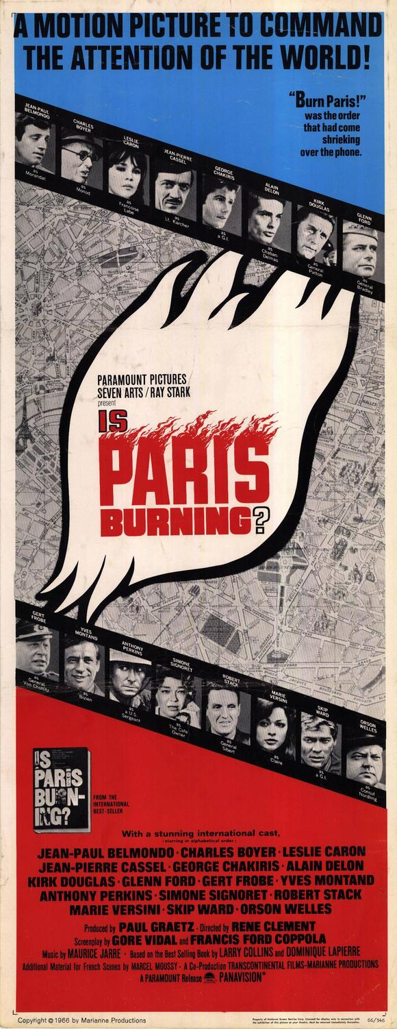 Is Paris Burning (1966) ALL STAR CAST on DVD