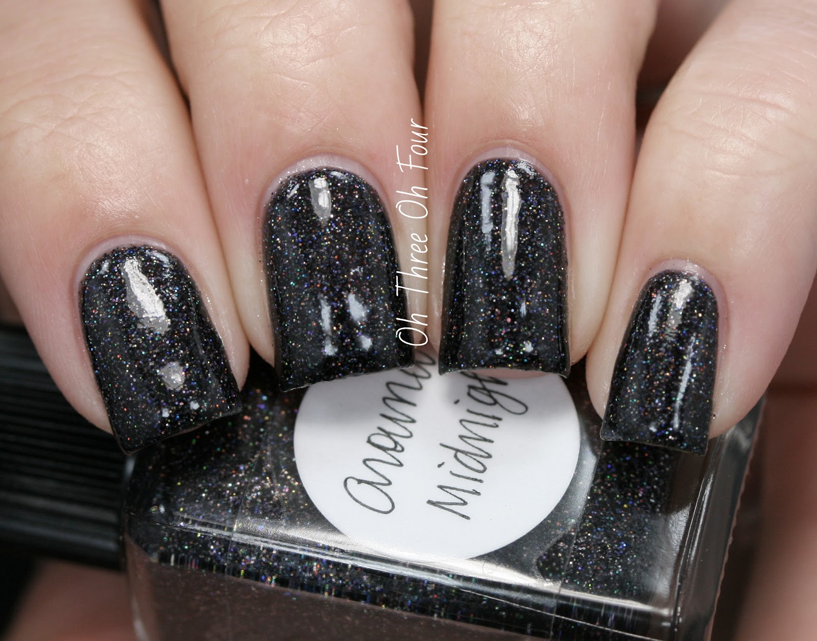 Lynnderella Around Midnight Swatch