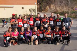 Vacarisses Corre a la I Cursa de muntanya d'Ullastrell