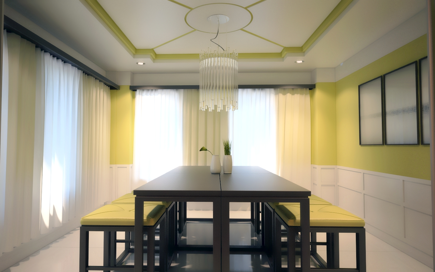 J arch designs updated penthouse interior for Interior arch design ideas