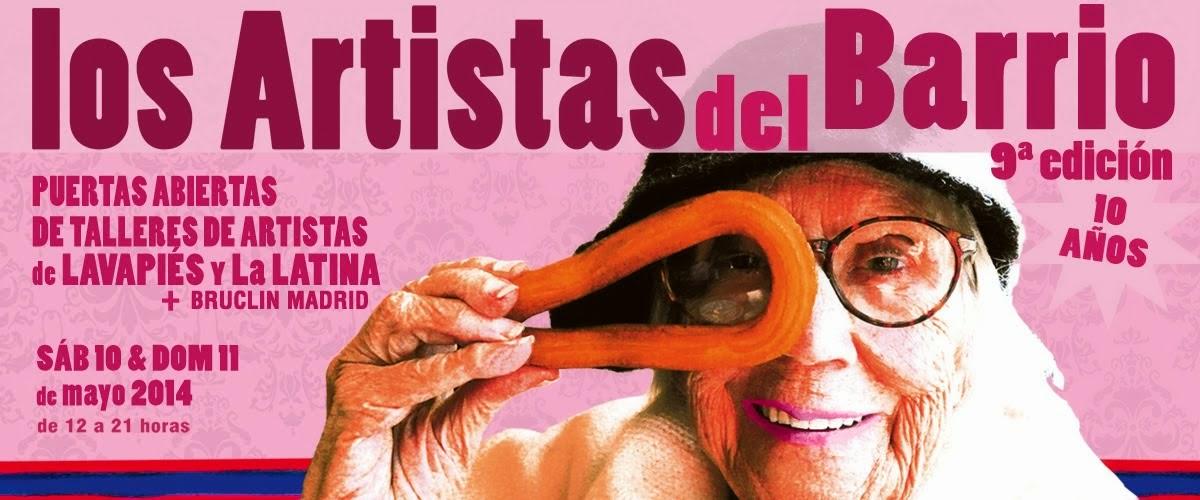 """Un año más con """"Los artistas del barrio"""", mayo 2014"""