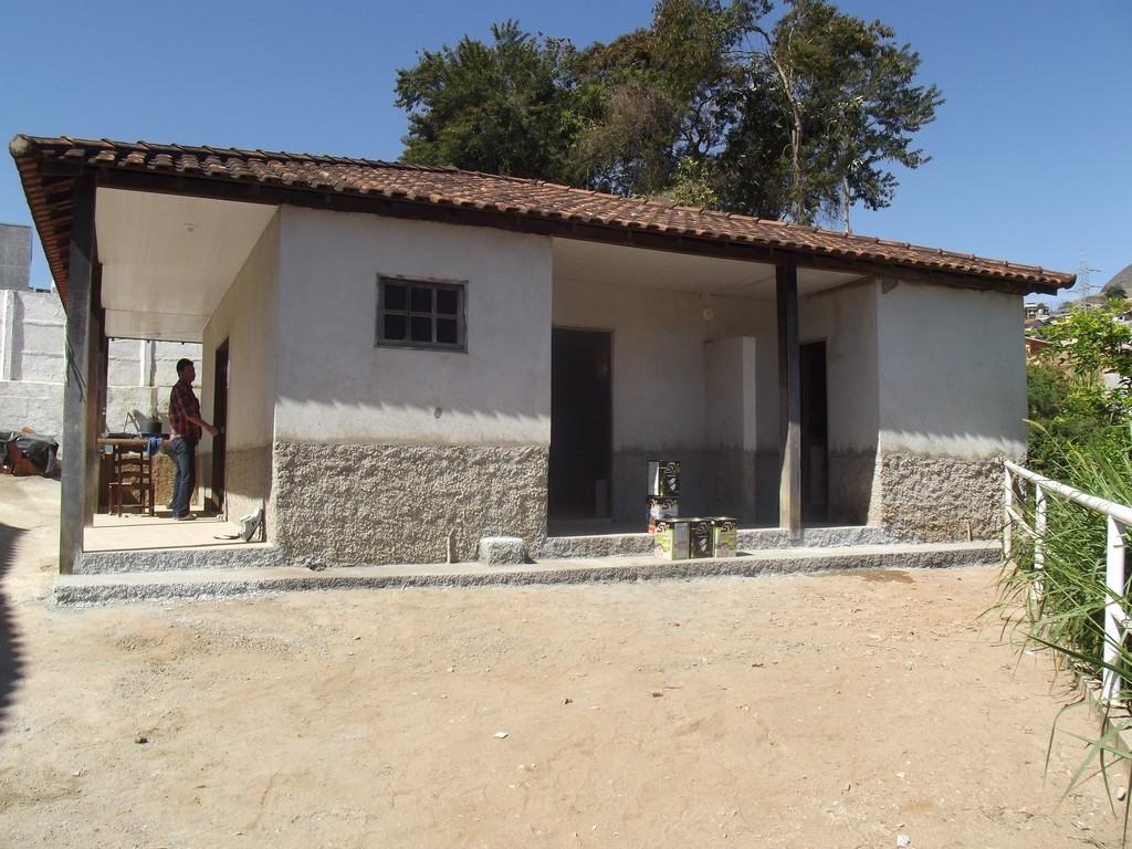 A revitalização da capela mortuária de Bonsucesso está em fase de conclusão
