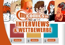 myComics Interviews + Wettbewerbe