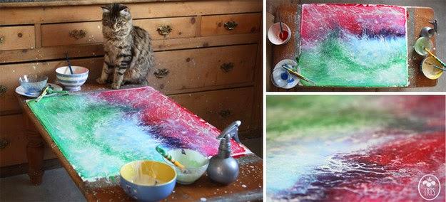 Πεντάχρονο κοριτσάκι με αυτισμό δημιουργεί μοναδικούς πίνακες ζωγραφικής