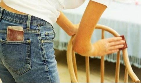 Menghilangkan Goresan Pada Furnitur Kayu
