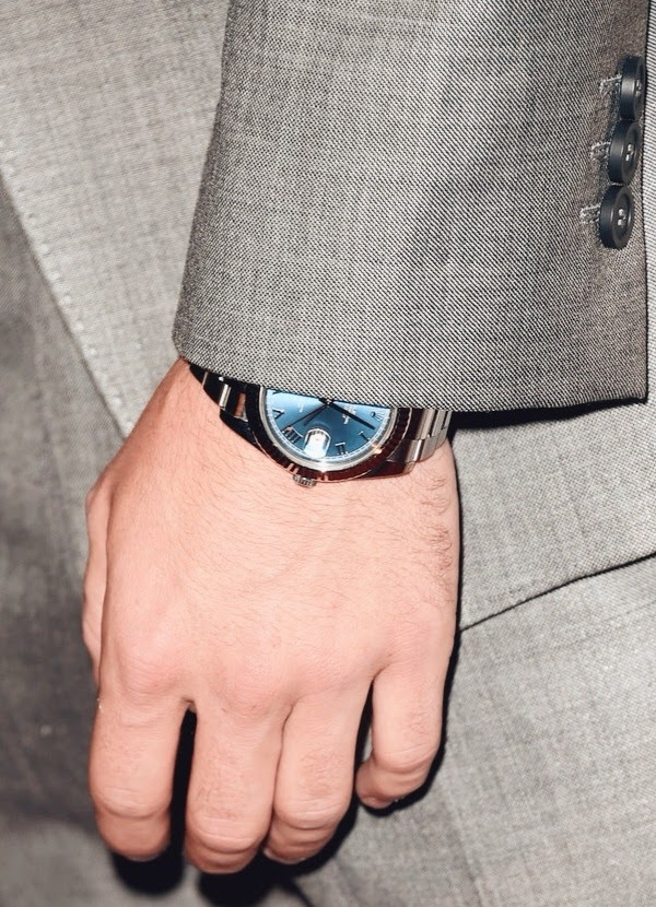 Colton Haynes blue Rolex Oyster Datejust 4th Annual Critics Choice Television Awards