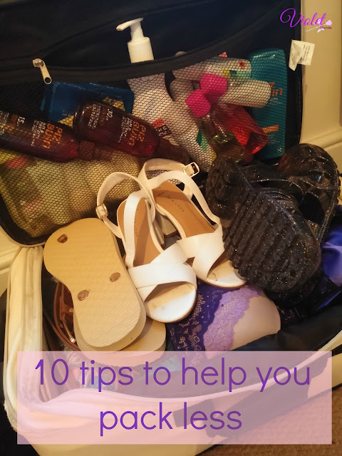 10 tips help you pack less