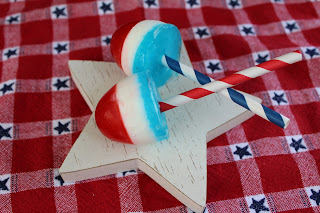 popsicles, red, white and blue, 4th of July