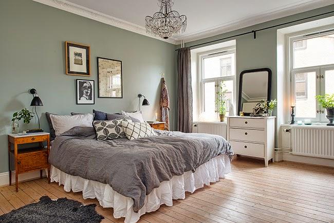 casa di ispirazione nordica - home shabby home | arredamento ... - Colori Rilassanti Per Camera Da Letto