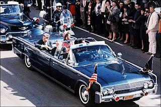 maqueta del coche de Kennedy el dia de su muerte