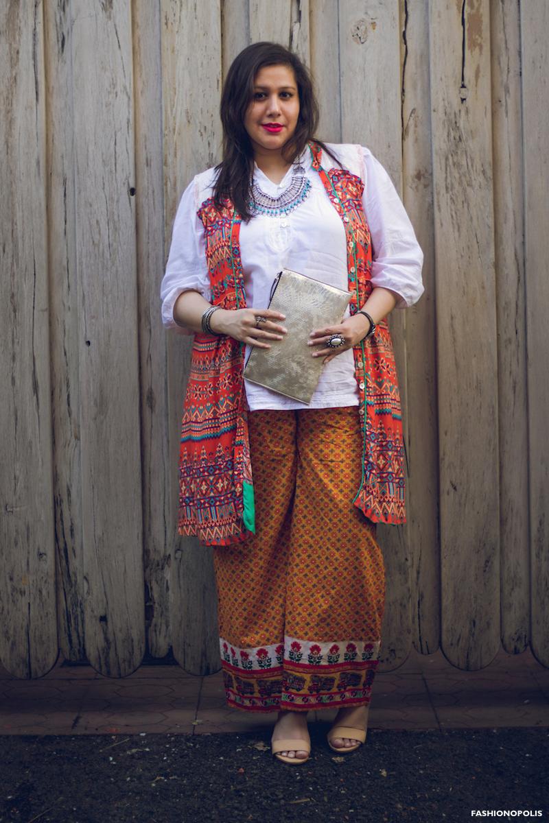 Plus Size Print Mix Look - Plus Size Styling - Plus Size Fashion Blogger