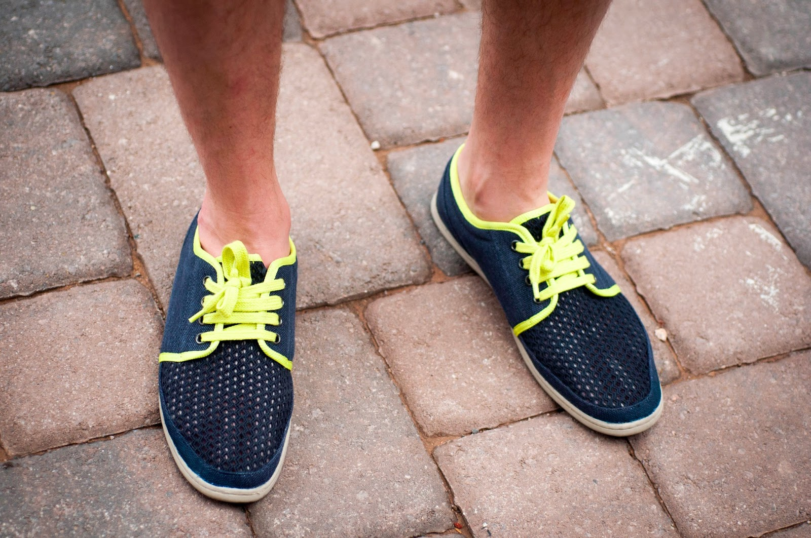 neon shoes, yellow laces, zara shoes, netting, mens style, mens fashion, mens style blog
