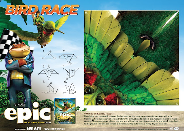 EPIC activity sheets